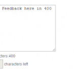 Create Character Counter in Javascript