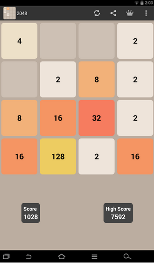 2048 puzzle game for pc