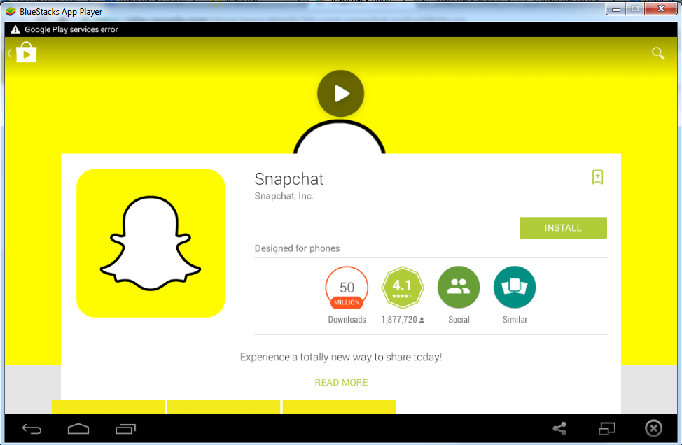 download snapchat for windows 8.1