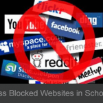 How to access/open/unblock blocked sites in college/company/school
