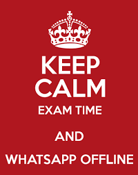 Whatsapp status exam time download