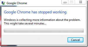 {Solved} Google chrome has stopped working error & How to fix it