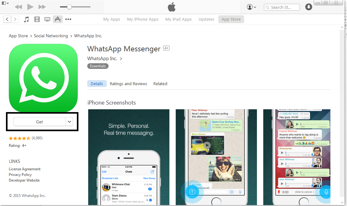 Download And Install Whatsapp For Ipad Ipod Using 2 Easy