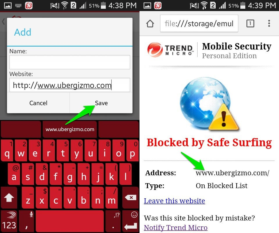 Blocking porn sites on flip phone