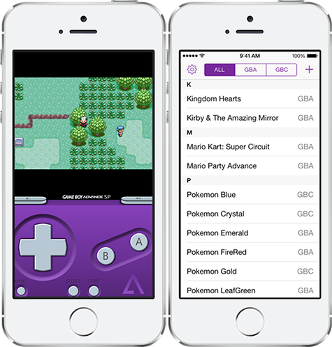 gameboy advance emulator for iphone and install gba emulator for ios without jailbreak 16988