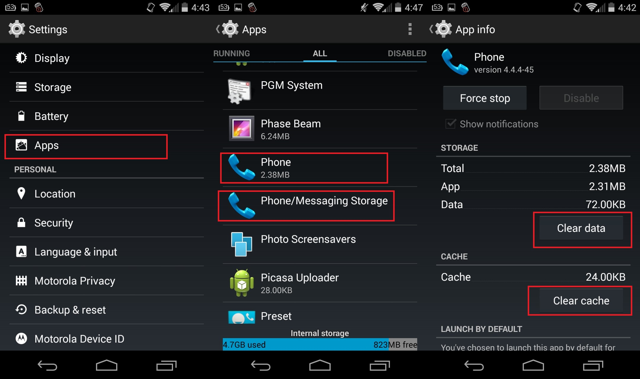 Solved} Process com android phone has Stopped Working Error
