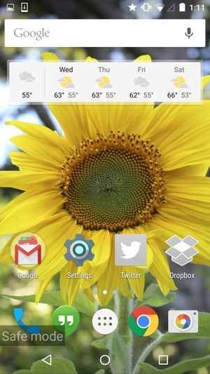 how to delete safe mode on samsung