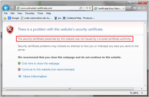 How to fix ssl connection error in Google Chrome, Mozilla firefox?