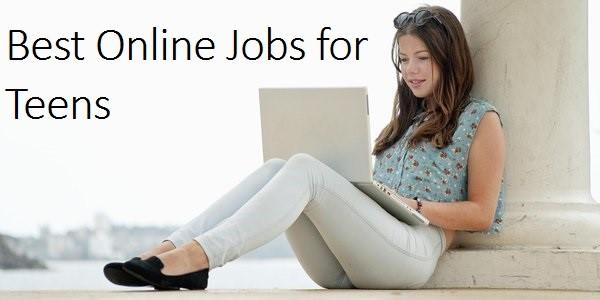 Internet jobs for teens