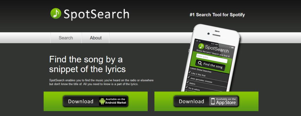 Spotsearch