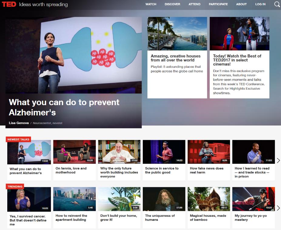 TED-website-like-youtube
