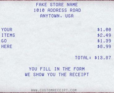 8 best receipt maker websites to generate fake receipt